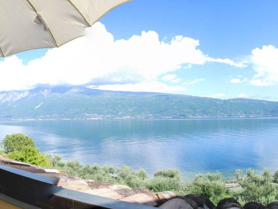 Traumhafte Seesicht von der Terrasse