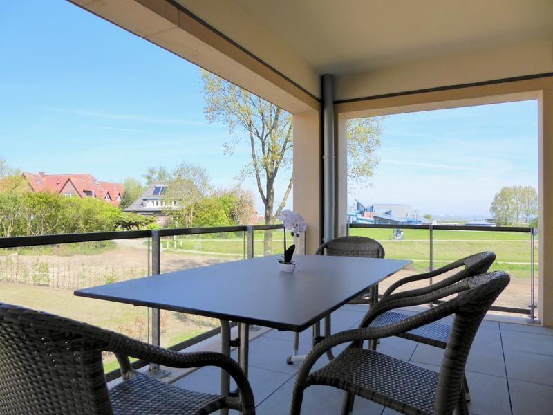 Ferienwohnung Strandhafer 4/6 - Nordsee Park Dangast