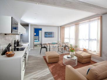 Apartment M München Suite mit Terrasse für 6 Personen mit Terra