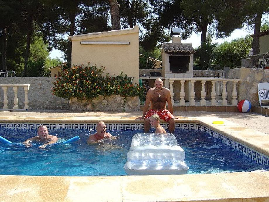 Spaß in Pool und Sauna
