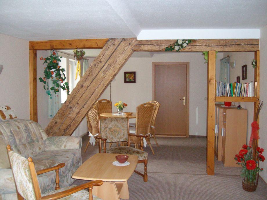 Mansarden-Wohnzimmer 26m²