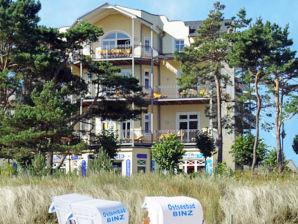 Ferienwohnung Appartementhaus ATLANTIC F651 WG 6 mit seitlichem Meerblick