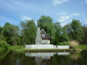 Ferienhaus Auf einer Insel im Neuendorfer See