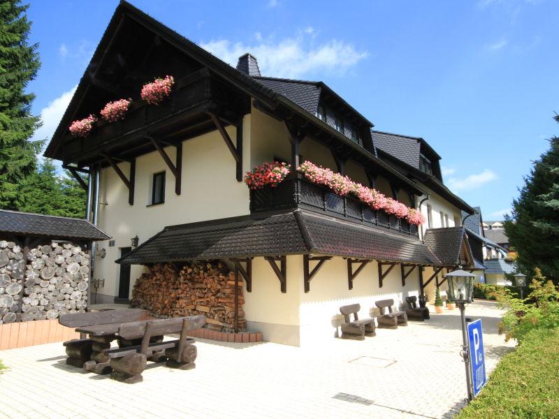 Apartment im Appartementhaus am Fichtelberg