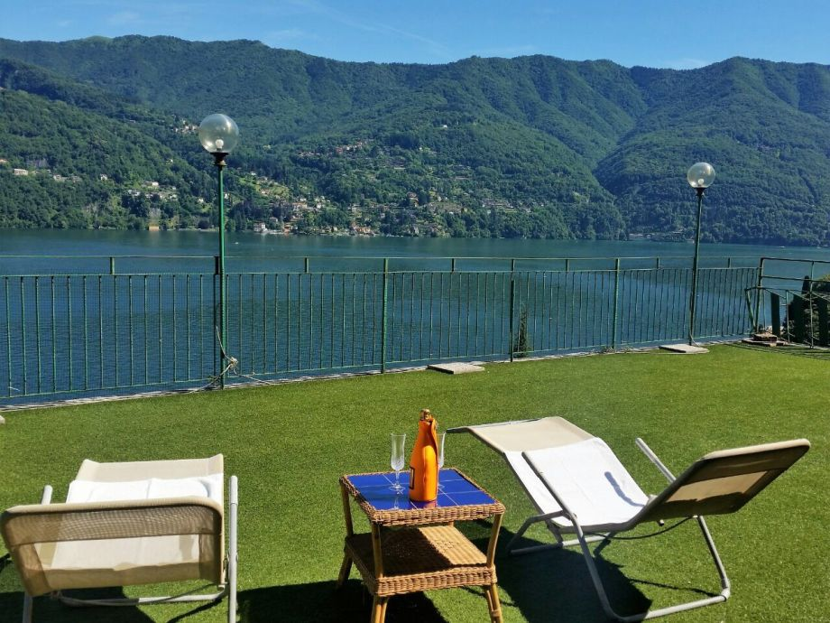 Terrace with an amazing view of Lake Como