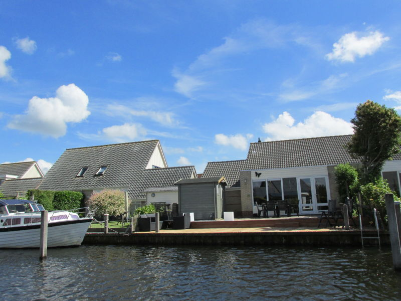 Ferienhaus River House direkt am Wasser top Ausstattung