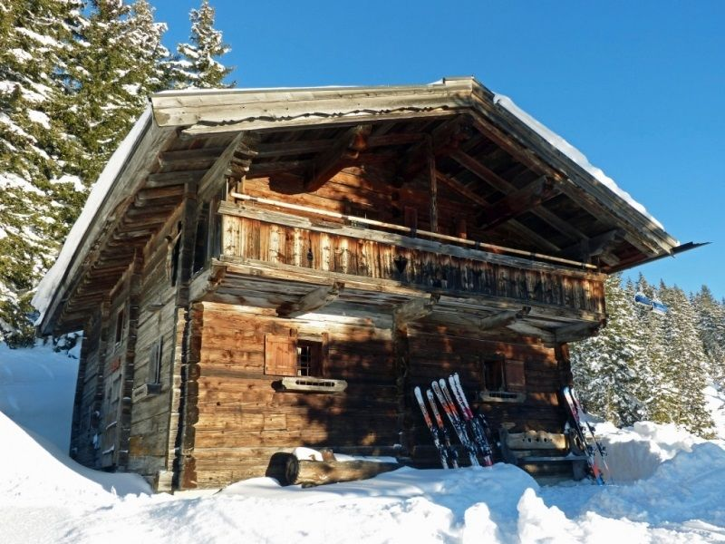Alpine hut Almliesl SAAB-562