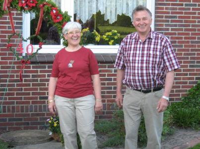 Ihr Gastgeber Wilfried und Margret Röben
