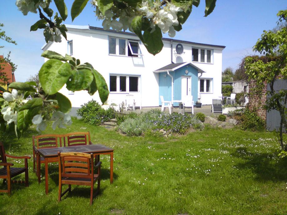 Das Witte Hus mit Garten und Terrasse