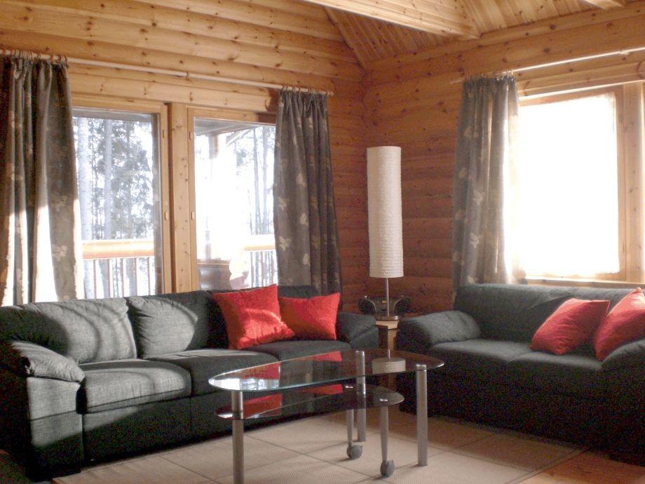 Ferienhaus sunny m kki sysm finnische seenplatte for Wohnzimmer 20 grad