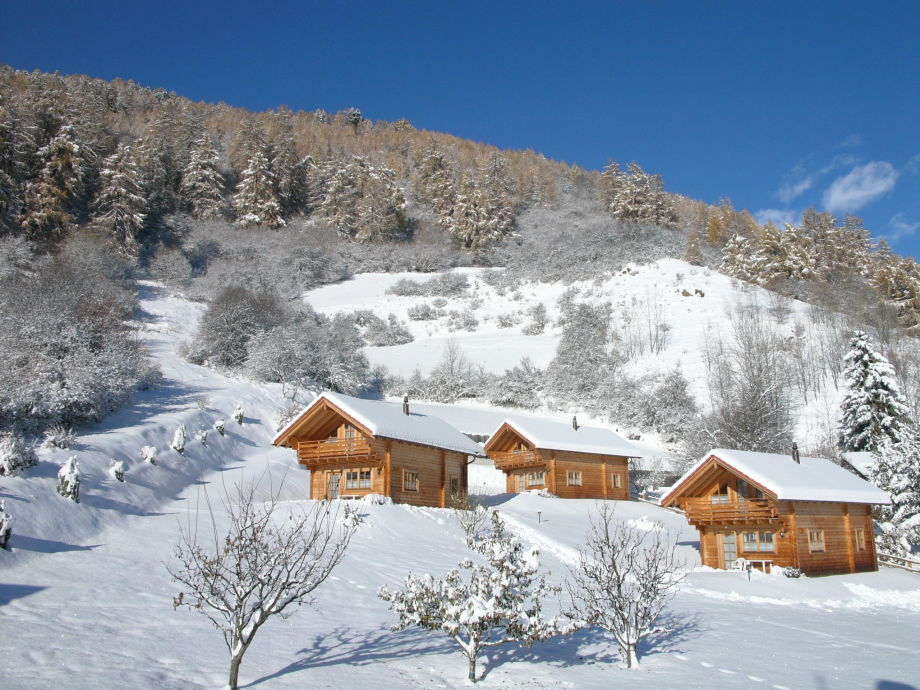 A winter in the mountains