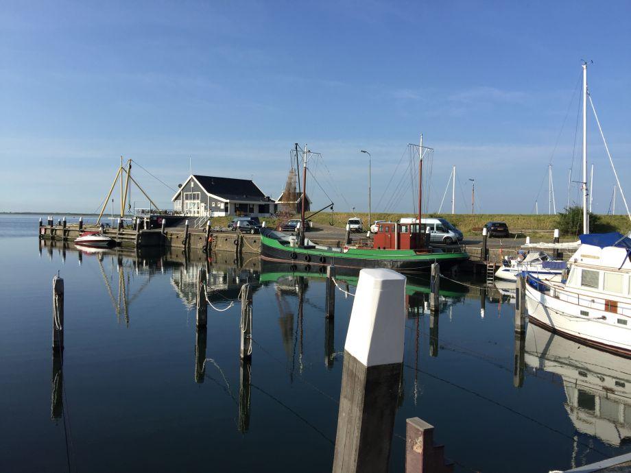 Aussicht Hafen Ouddorp