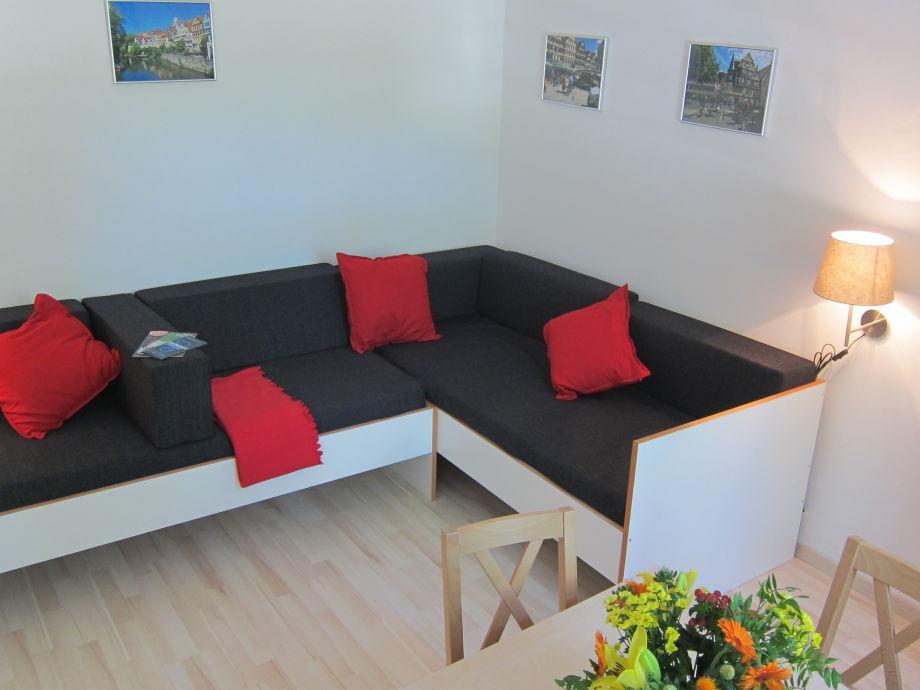 ferienwohnung 3 zimmer apartment am nonnenhaus inkl wlan baden w rttemberg neckar alb. Black Bedroom Furniture Sets. Home Design Ideas
