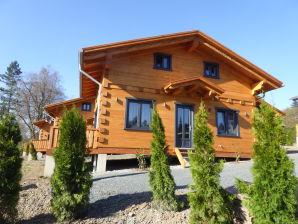 4-Sterne Blockhaus Panorama Hütte Ferienhaus