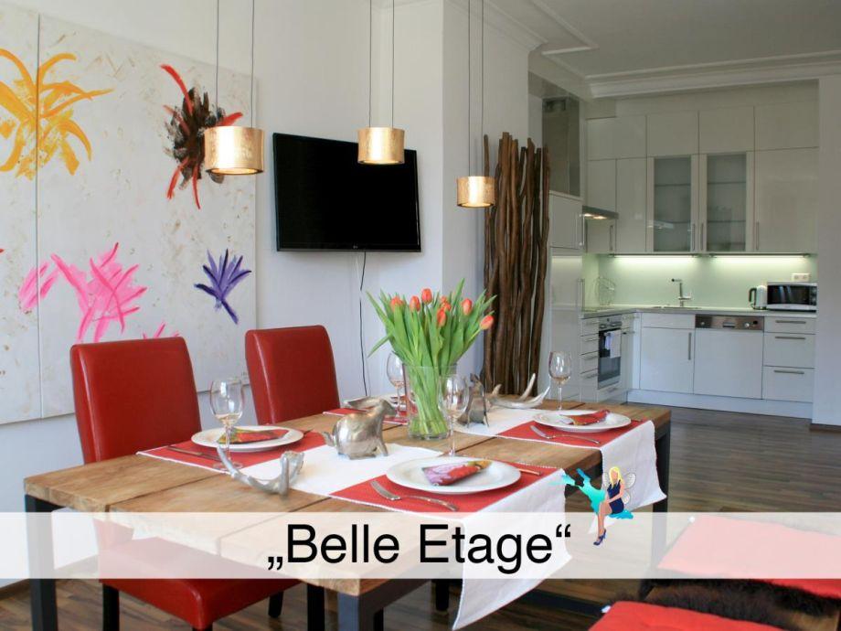 """Ausstattung Ferienwohnung """"Belle Etage"""""""
