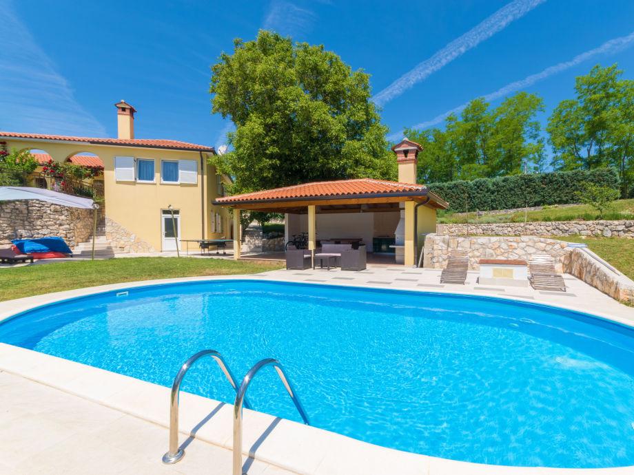 Villa Green Sky Istrien Familie Frankovic
