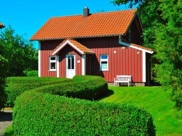 Ferienhaus Rotes Sommerhaus am Meer