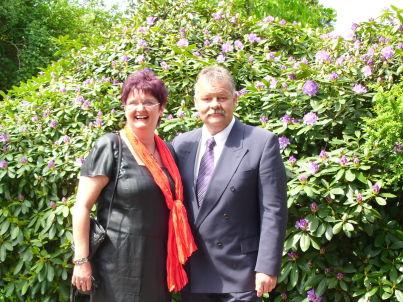Ihr Gastgeber Christine und Jörg Wibbold