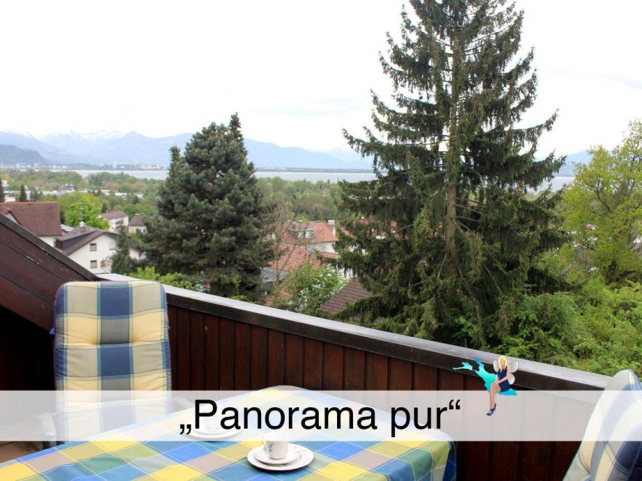 """Außenaufnahme Ferienwohnung """"Panorama pur"""""""