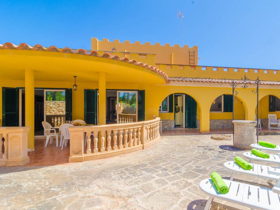 Außenaufnahme Villa del Mar Mondrago