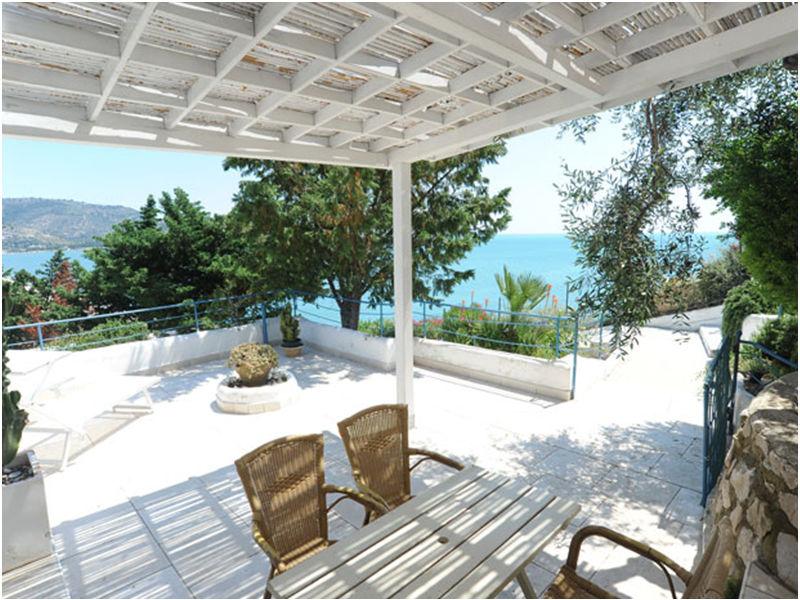 Ferienhaus Intorce (mit Meerblick/50 Meter zum Strand)