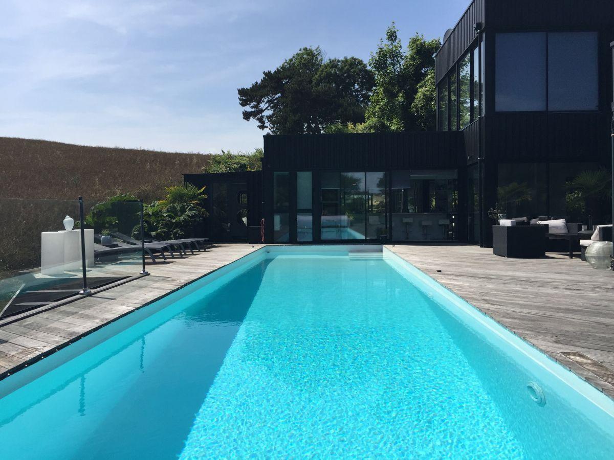 Apartment le lodge quartz normandie pourville sur mer for Gartenpool 5m