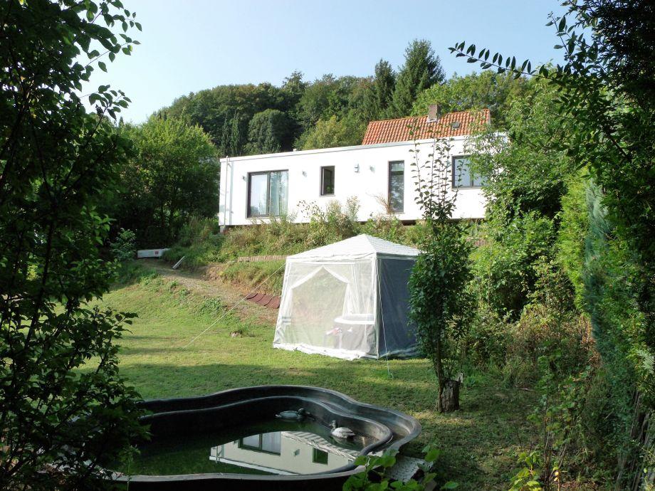 Haupthaus mit Garten-Whirlpool