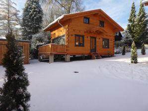 4-Sterne Blockhaus Harmonie Hütte Ferienhaus