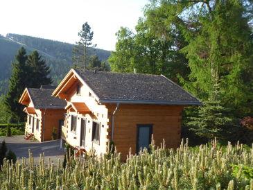 5-Sterne Blockhaus Kuschel Hütte Ferienhaus
