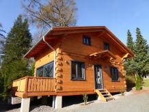 Ferienhaus 5-Sterne Blockhaus Comfort Hütte Ferienhaus