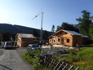 4-Sterne Blockhaus Romantik Hütte Ferienhaus