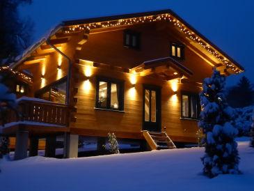 5-Sterne Blockhaus Romantik Hütte Ferienhaus
