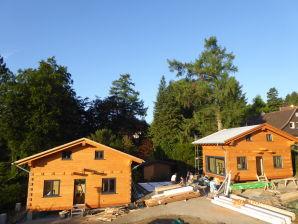 4-Sterne Blockhaus Wellness Hütte Ferienhaus