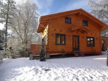 5-Sterne Blockhaus Wellness Hütte Ferienhaus