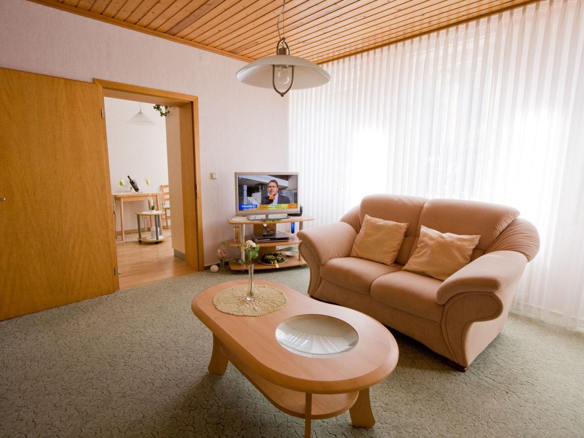 Ferienwohnung trautmann fichte bergstadt lautenthal oberharz niedersachsen firma - Fernseher wohnzimmer ...