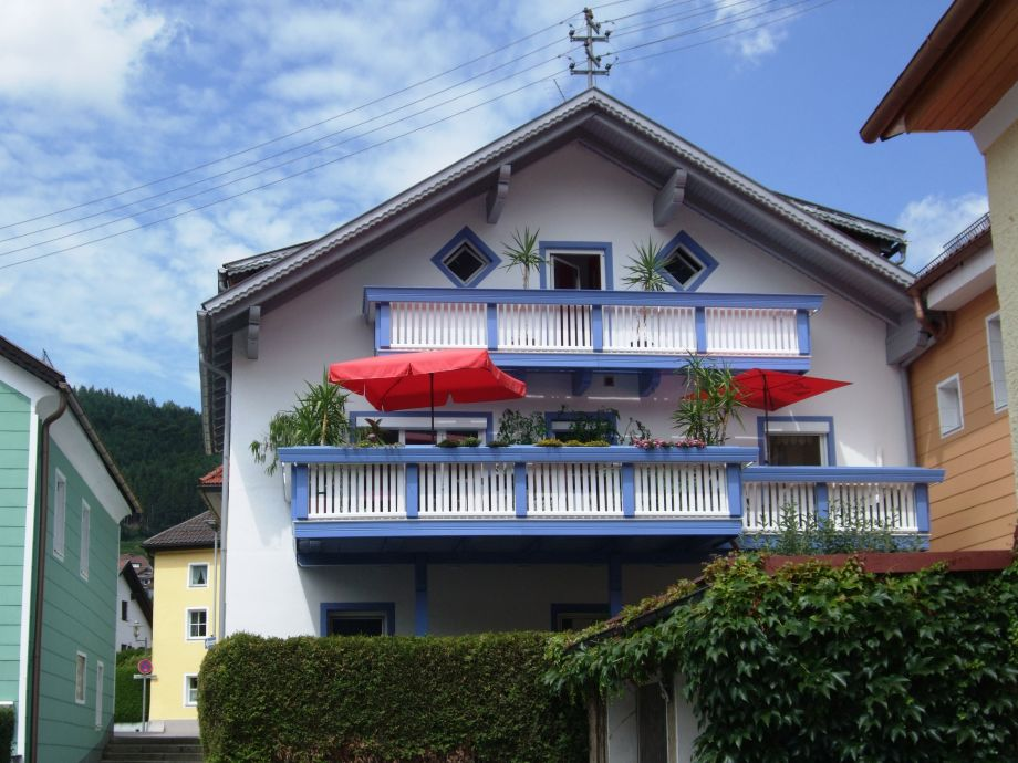 Our house seen from the Danube