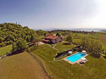 Ferienwohnung Padenghe - Villa Monte Croce - Appartement 3 - Urlaub am Gardasee