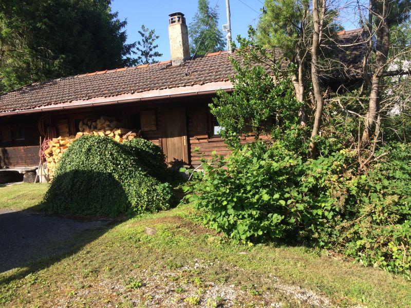 Ferienhaus Blockhütte Bad Kohlgrub
