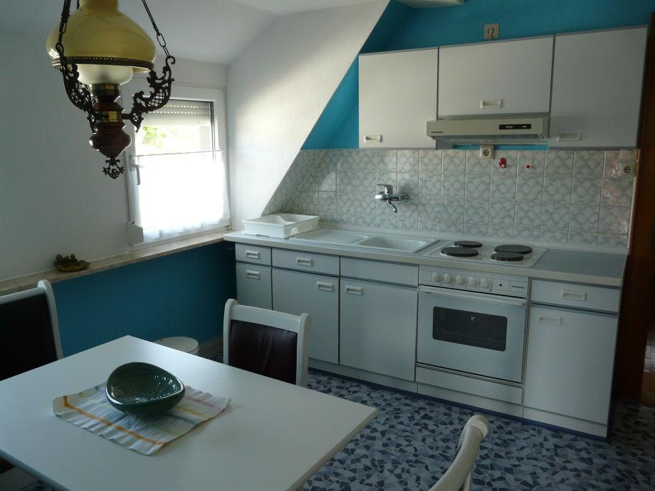 Küche von Geli´s Ferienwohnung