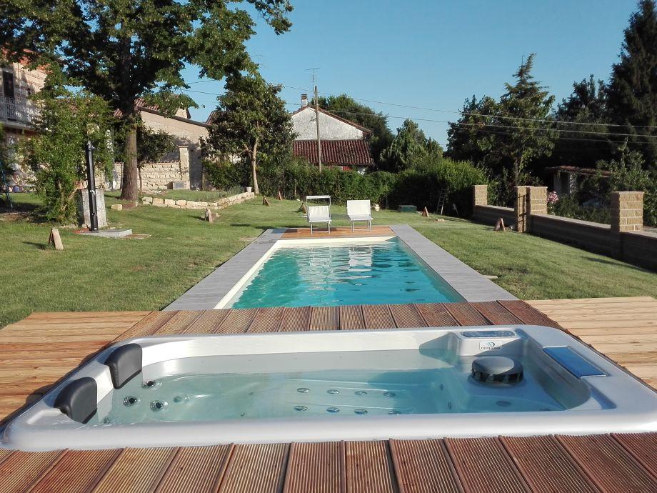 Ferienhaus la casetta piemont monferrato frau claudia cardamone - Pool salzwasser ...