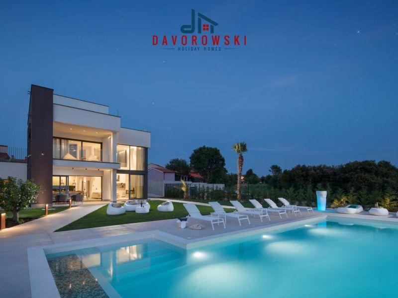 Villa PS Deluxe mit Meerblick Jacuzzi