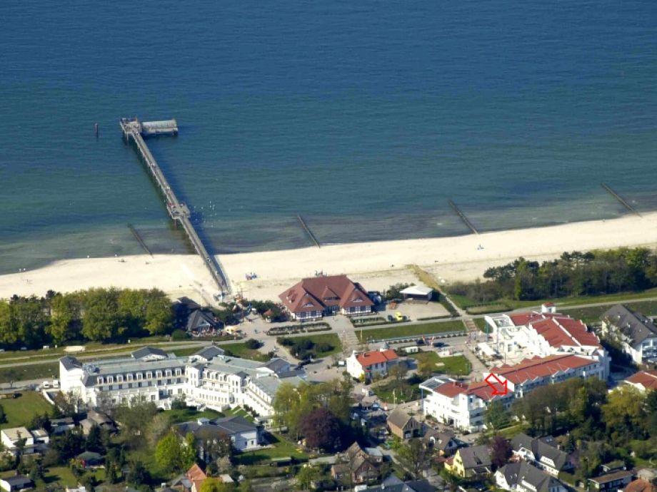 Zingst Seebrücke und Hotel