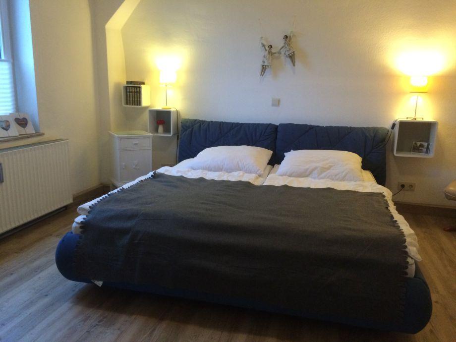 Schlafzimmer Ferienwohnung Hittfeld