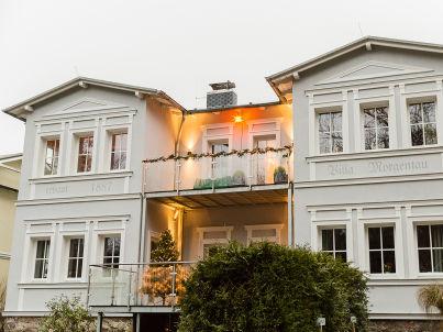 in the Villa Morgentau