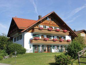 Ferienwohnung Bergziege im Ferienhof AlpenMax