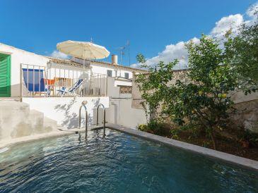 Ferienhaus mit Pool in Pollença Altstadt