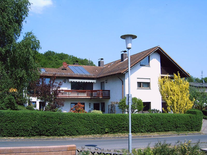 Holiday apartment Haus am Burgwaldpfad
