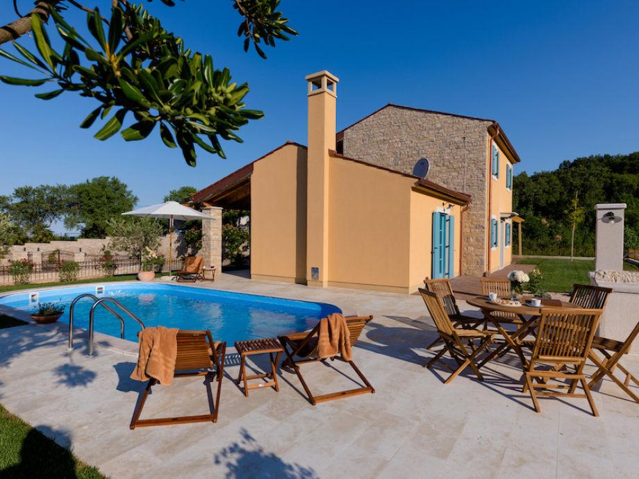 Außenaufnahme Villa Istra