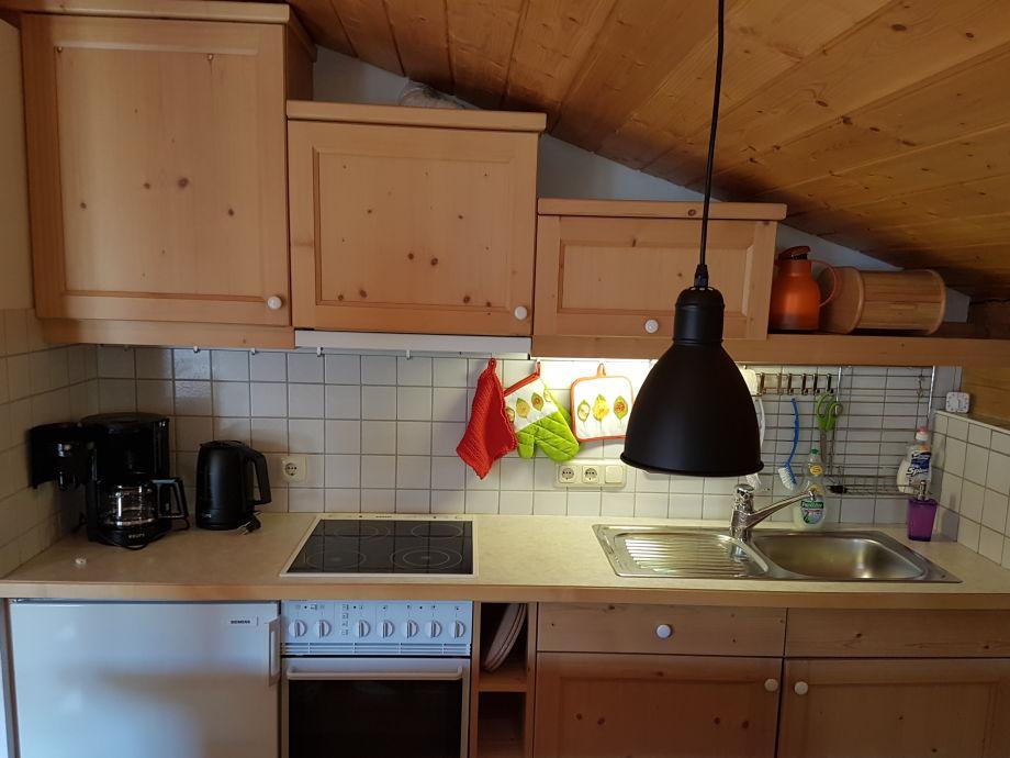 Küchenzeile Dachschräge ~ ferienwohnung pistenblick hochkrimml, nationalpark hohe