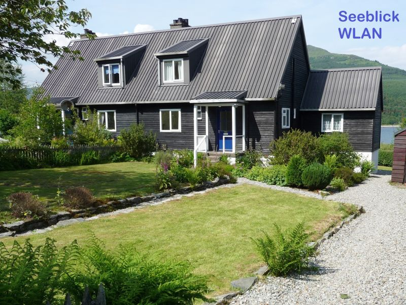 "Ferienhaus Seeblick ""Laraich Lodge"""